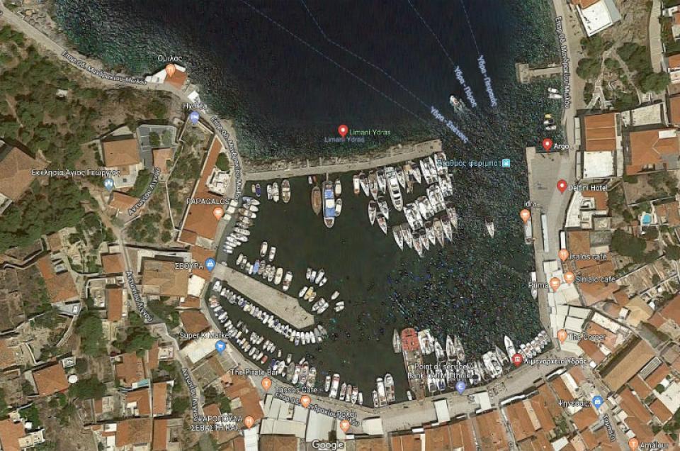 Ομόφωνη έγκριση της μελέτης περιβαλλοντικών επιπτώσεων για το λιμάνι της Ύδρας