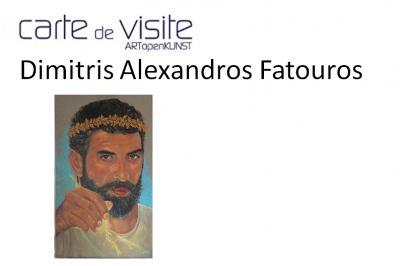 Στην έκθεση Carte de Visite στις Βρυξέλλες ο Δημήτρης Αλέξανδρος Φατούρος
