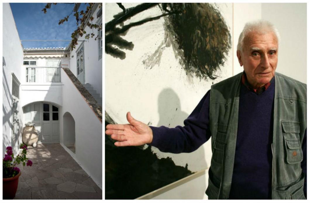 Ανοίγει η οικία Π. Τέτση για το κοινό, έναν χρόνο μετά τον θάνατο του μεγάλου ζωγράφου