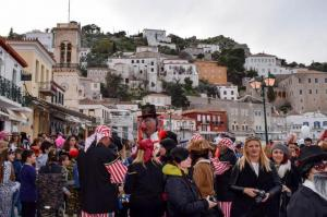 Joy and dancing in Hydra's Carnival