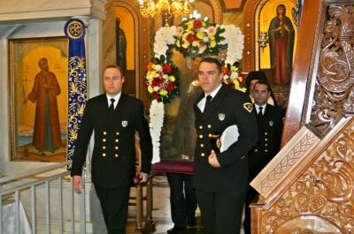 Γιορτάστηκε με επισημότητα η μνήμη του Αγίου Κωνσταντίνου από τον Υδραϊκό Σύνδεσμο Πειραιά