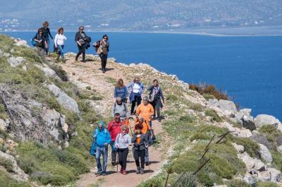 Σύλλογος Δρομέων Ύδρας: Οργάνωση πεζοπορικής βόλτας στα βουνά της Ύδρας