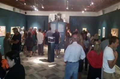 Λαμπρά εγκαίνια στην έκθεση με τα έργα του Leonardo Cremonini στο ΙΑΜΥ