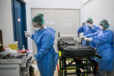 Κορωνοϊός: 599 νέα κρούσματα στην χώρα, 328 διασωληνωμένοι και 33 θάνατοι