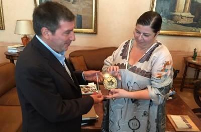 Ένα συναρπαστικό μετάλλιο από την Έλενα Βότση για το Βραβείο της Δημοκρατίας