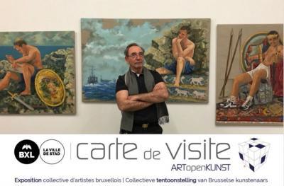 """Ολοκληρώθηκε η έκθεση """"carte de visite"""" στις Βρυξέλλες όπου συμμετείχε ο Δημήτρης Αλέξανδρος Φατούρος"""