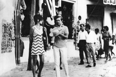 H εμβληματική Σταρ του Χόλιγουντ Όντρεϊ Χέπμπορν στην Ύδρα του 1970