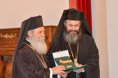 Με εμπνευσμένη ομιλία για την Παναγία υπό του Αρχιμ. π. Ειρηναίου Λαφτσή ξεκίνησαν τα Θεομητορικά 2018