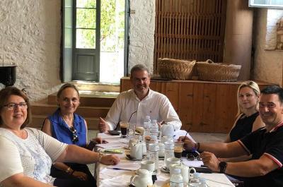 Συνάντηση Γενικού Γραμματέα ΕΟΤ με το Προεδρείο της Ένωσης Ξενοδόχων στην Ύδρα