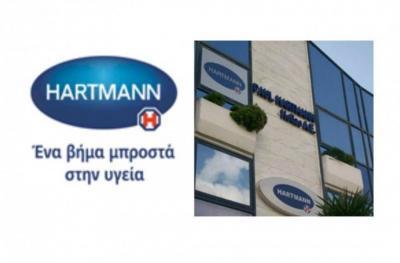 Δωρεά ιατρικών προϊόντων στο Κουλούρειο Νοσοκομείο από την PAUL HARTMANN και τον Πάνο Κορωνάκη