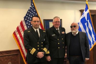 Υπεγράφη το Μνημόνιο Συνεργασίας της ΑΕΝ Ύδρας με το SUNYMC των ΗΠΑ