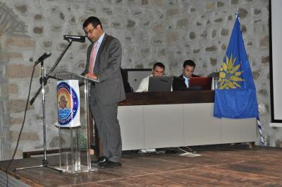 Στη Λέσβο σε τιμητικές εορταστικές εκδηλώσεις για τον Π. Κουντουριώτη συμμετείχε ο Γ. Κουκουδάκης