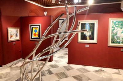 Συλλογή Πάνου Κορωνάκη στο ΙΑΜΥ. Η Σύγχρονη Τέχνη συναντά τη Ναΐφ Τέχνη στην Ύδρα