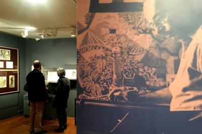 Έκθεση με εικονογραφημένα έργα του Νίκου Χατζηκυριάκου-Γκίκα στην ομώνυμη Πινακοθήκη