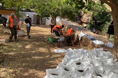 Καθαρισμός των ρεμάτων στην Ύδρα από την Περιφέρεια Αττικής προς αποφυγή πλημμυρών