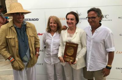 Μεγάλη διάκριση για την Αντιγόνη Βαμβακά στους αγώνες Spetses classic yacht regatta