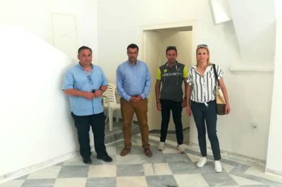 Η Αντιπεριφερειάρχης Νήσων Βάσω Θεοδωρακοπούλου-Μπόγρη στην Ύδρα