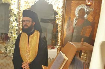 Τελέστηκε εσπερινός στο Ενοριακό Παρεκκλήσιο Ευαγγελισμού της Θεοτόκου Γκουρμάδας Ύδρας