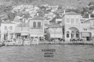 ARTURO BAMBOO X KENNEDY MAGAZINE. Open Air Summer Exhibition and Book Launch in Hydra