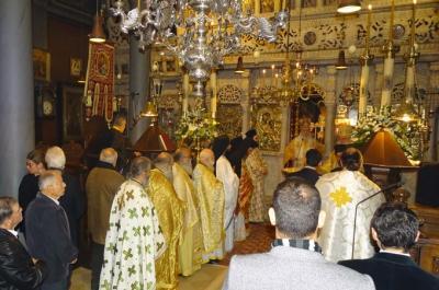 Με ιεροπρέπεια  και σεμνότητα γιορτάστηκαν τα Ονομαστήρια του Ποιμενάρχη μας κ. ΕΦΡΑΙΜ