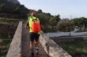 To video clip των αγώνων 2nd Trimore SwimRunHydra 2019