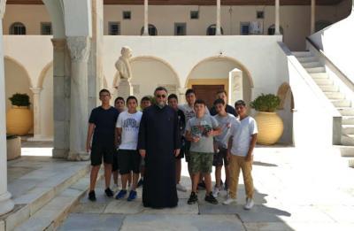 Ραντεβού για τον Οκτώβριο έδωσε η ομάδα των αγοριών Γυμνασίου και Λυκείου Ύδρας!