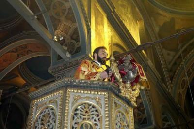 Εις Πρεσβύτερον Χειροτονία του Αρχιδιακόνου π. Νεκταρίου Δαρδανού υπό του Μητροπολίτη Εφραίμ