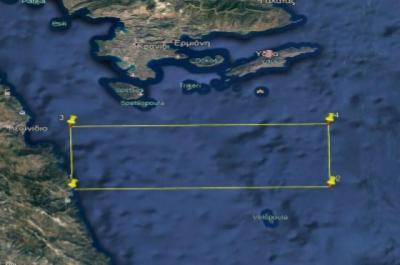 Eνεργοποιείται το πεδίο βολής της Ύδρας σύμφωνα με ανακοίνωση της λιμενικής αρχής