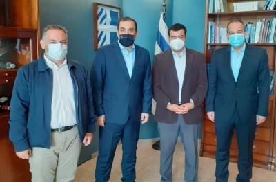 Τον Υπουργό Ναυτιλίας Γ. Πλακιωτάκη και τον Υφυπουργό Κ. Κατσαφάδο συνάντησε ο Δήμαρχος Ύδρας Γ. Κουκουδάκης