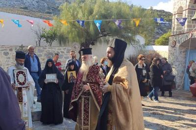 Γιόρτασε με κατάνυξη το διήμερο 19 και 20 Οκτωβρίου 2021 η Ι. Μονή Αγίας Ματρώνης Ύδρας