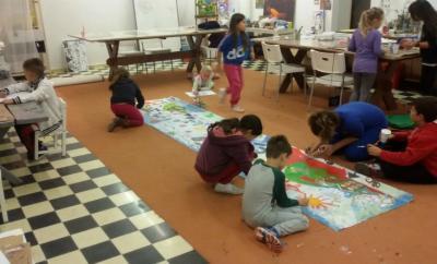 Δωρεάν μαθήματα ζωγραφικής, πηλού και κατασκευών από την Υδραγωγή