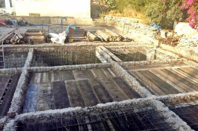 Εργασίες στην υδατοδεξαμενή της Ύδρας στην περιοχή «Καλά Πηγάδια»