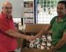 Δωρεά αθλητικού υλικού στον ΑΟΥ από τον Προέδρο του Ατρόμητου Γιώργο Σπανό. Ευχαριστίες από τον Μανώλη Καραμήτσο