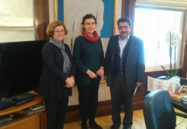 Συνάντηση του Αντιπεριφερειάρχη Νήσων με την Υπουργό Πολιτισμού και Αθλητισμού