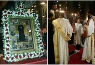 Τελέστηκαν με ευλάβεια στην Ύδρα οι εσπερινοί για τα προεόρτια του Αγίου Κωνσταντίνου του Υδραίου