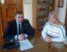 Συνάντηση της Βουλευτού Γ. Γεννιά με τον Πρόεδρο του ΕΒΕΠ Β. Κορκίδη