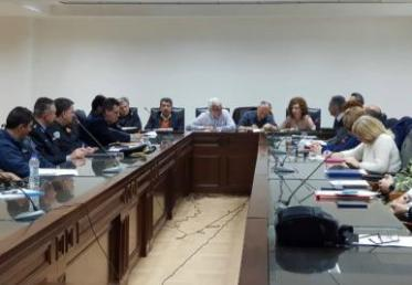 Συνεδρίαση Συντονιστικού Οργάνου Πολιτικής Προστασίας