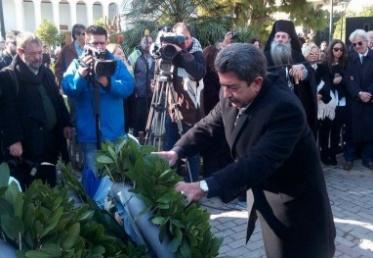 Στεφάνι στη μνήμη των αδικοχαμένων αξιωματικών κατέθεσε ο Αντιπεριφερειάρχης Νήσων