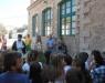 Αγιασμός στα σχολεία της Ύδρας. Πρώτο κουδούνι και στο Β' Δημοτικό και το Β' Νηπιαγωγείο